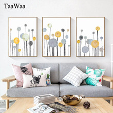 TAAWAA Abstract Tree Canvas Posters and Prints Nordic Decorative Wall Art Picture Landscape Painting for Living Room Home Decor