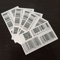 2016 European and American black two-dimensional bar code at least waterproof tattoo stickers - white