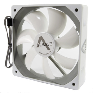 Image 4 - ALSEYE Computer Fan 120mm 12v White Fan (2pieces/lot) 64CFM High Air Flow Quiet Fan for Computer Exhaust