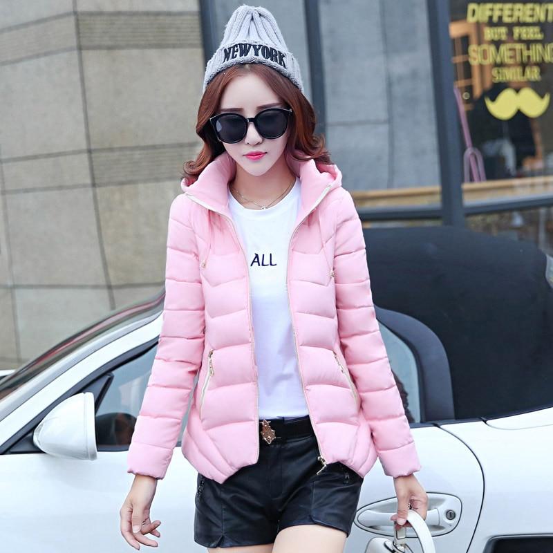 ФОТО TX1499 Cheap wholesale 2017 new Autumn Winter Hot selling women's fashion casual warm jacket female bisic coats