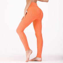 028ed6d6b7bc9 New Women Sexy Bubble Textured Leggings Fashion High Wasit Workout Sporting  Leggings Hip Push Up Casual