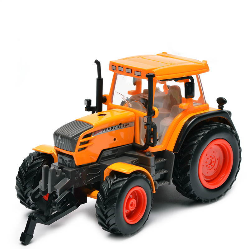 Image 4 - Farm Vehicles Car Model Engineering Car Model Tractor Engineering Car Tractor Toy Model For Children Action Figure Toys-in Diecasts & Toy Vehicles from Toys & Hobbies