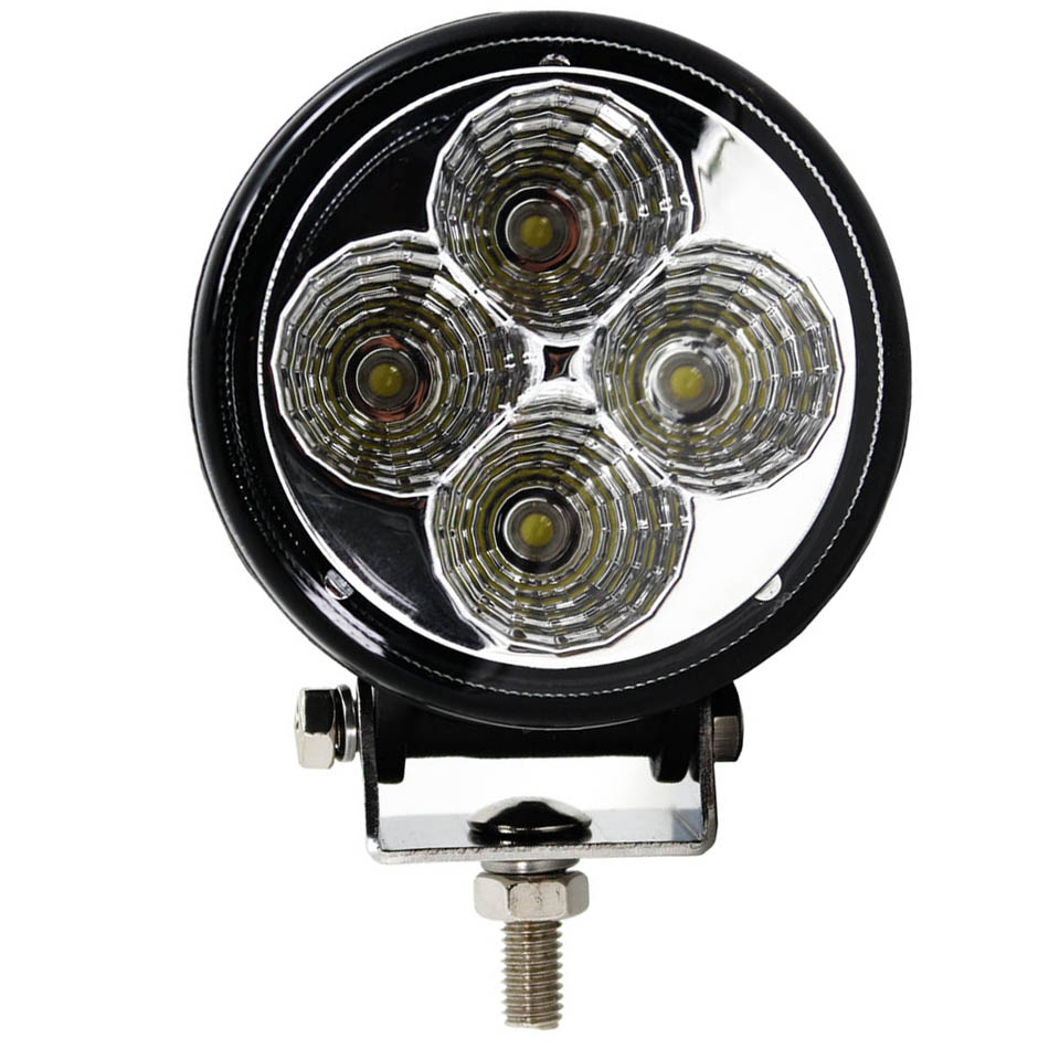 1pcs 12W 3 Inch LED Spot Working Light For SUV 4WD Offroad ATV Car Truck Forklifts  4LED Daytime Running Light Fog Waterproof 3 led car spot light