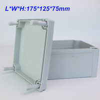 1Pc 175*125*75mm ABS Waterproof Junction Plastic Box Enclosure Box Project Case DIY Outdoor Electrical Connection box