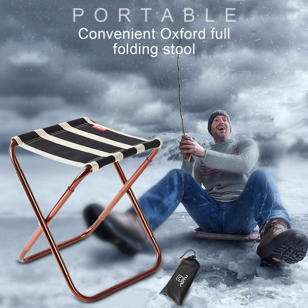Portable Outdoor Folding Fishing Chair with Bag Lightweight Camping Backpack Chairs for Picnic Beach Hiking Fishing Camping outdoor folding portable stool ice cold bag fishing backpack storage cooler chair leisure travel hiking camping beach picnic