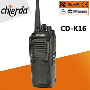 Image 1 - Самая дешевая цена двухстороннее радио Chierda ручной высокое качество woki toki 10 км CD K16 рация FRS/GMRS K16