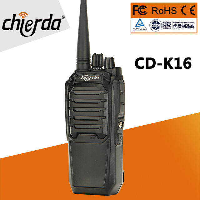 Самая дешевая цена двухстороннее радио Chierda ручной высокое качество woki toki 10 км CD K16 рация FRS/GMRS K16