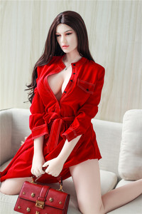 Image 5 - 165cm 653 love doll ,sex toy exquisite big breast silicone sex doll male realistic vaginal oral ass TPE With Skeleton