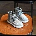 2017 весна осень зима бренда сапоги мальчики девочки высокие кроссовки мальчиков обувь детей кожаные ботинки замши детская обувь кроссовки