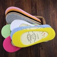Women's Thin Sock Slippers, 5 Pairs