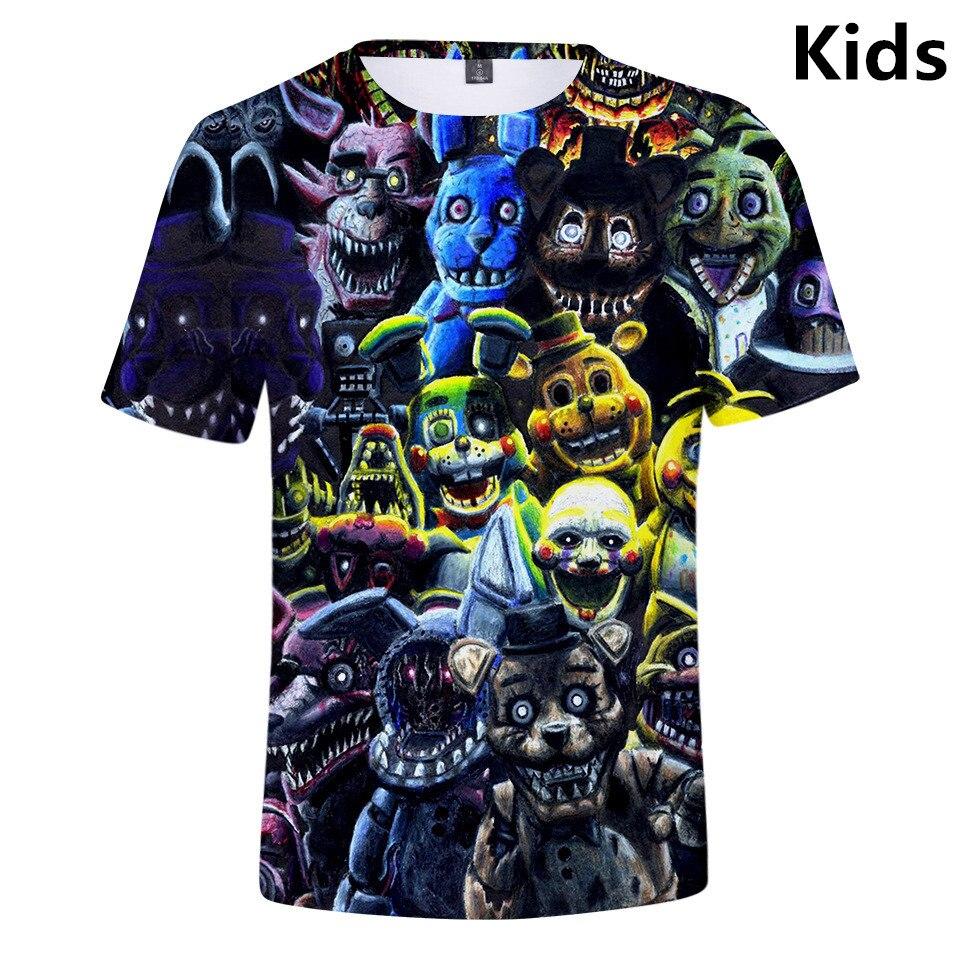 Kids Galaxy Owl Triangle O-Neck T Shirts for Fashion Children Boys Girls Tee Shirt