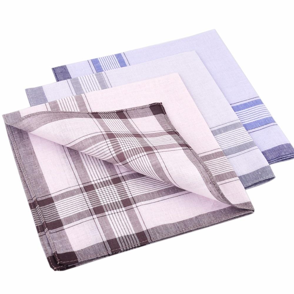 multi colors 38cm x 38cm 100/% cotton classic pattern handkerchief gift set