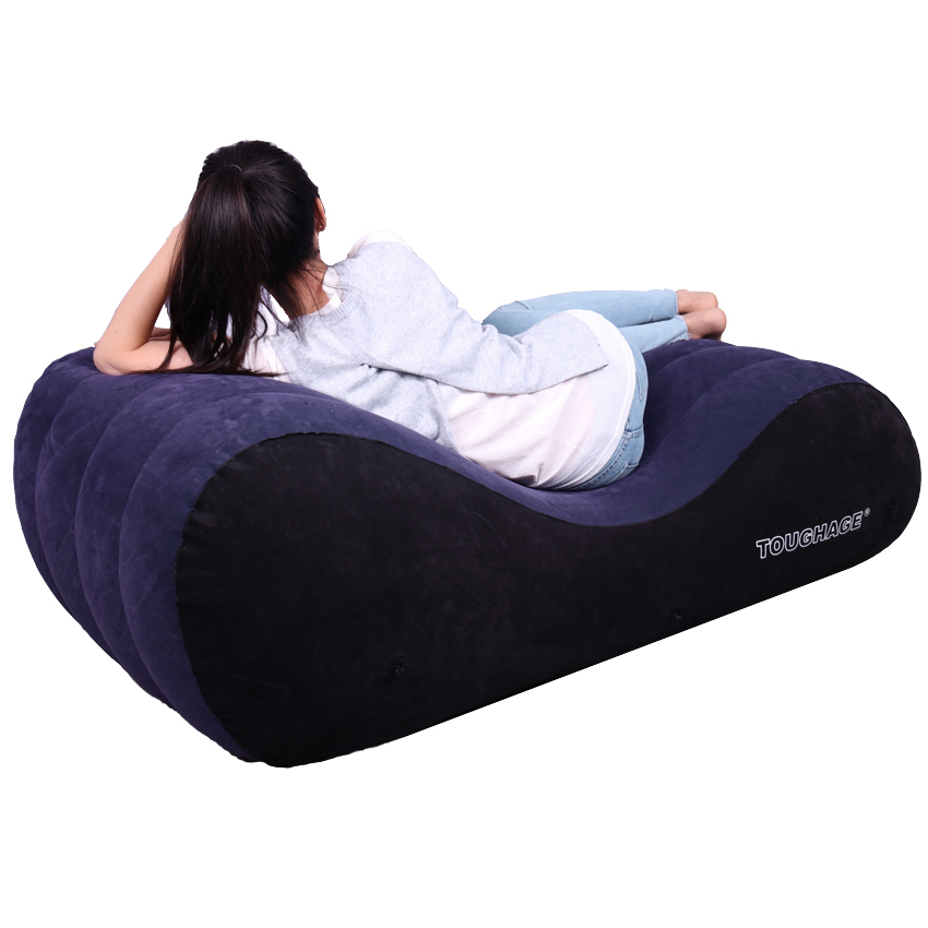 Portable Inflatable Luxury Pillow Chair Adult Sex Bed Helpful Adult Sex Sofa Pad Adult Sex Furniture toughage circular bed luxury inflatable pillow chair with adult furniture sex games versatile sofa pad sex fun pf3208