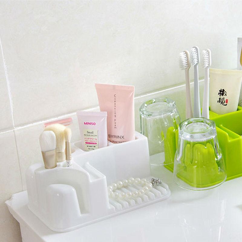 Multifunction Rectangle Kitchen Bathroom Shower Storage Box ...