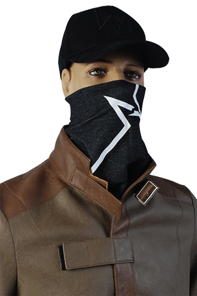 Watch Dogs Cap and Scarf Bandana Aiden Pearce Cosplay Costume Mask Hood