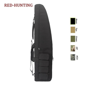 47'' 120cm/70cm/95cm Tactical Gun Bag Heavy Duty Rifle Shotgun Carry Case Bag Shoulder Bag for Outdoor Hunting 2