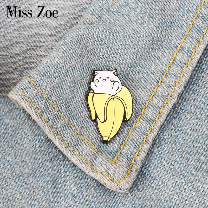 New Fashion Cartoon Funny Spoof Cactus Cat Pins And Brooches Pin Badges Hat Backpack Accessories Lovers Jewelry Gift Elegant And Sturdy Package Arts,crafts & Sewing Apparel Sewing & Fabric