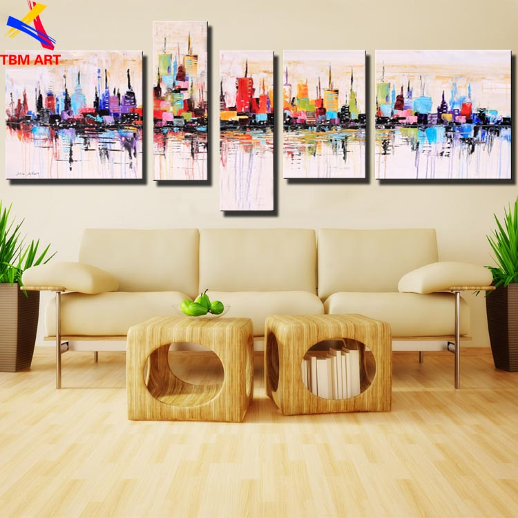 New York City Art Picture 100% Hand painted American Style Modern ...