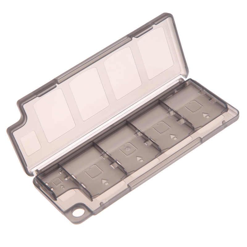 10 ячеек, чехол для хранения карт памяти для игр, держатель для карт TF, защитный чехол-органайзер для sony PS Vita ER psv