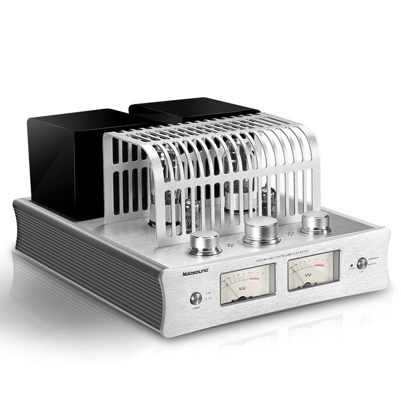 Douk Audio Latest Nobsound DX-925 Vacuum Tube Amplifier Bluetooth 4.0 Stereo HiFi Hybrid Single-Ended Class A Power Amp 220V douk audio integrated vacuum tube amplifier class a hifi power amp usb dac lossless decoder 110v 240v