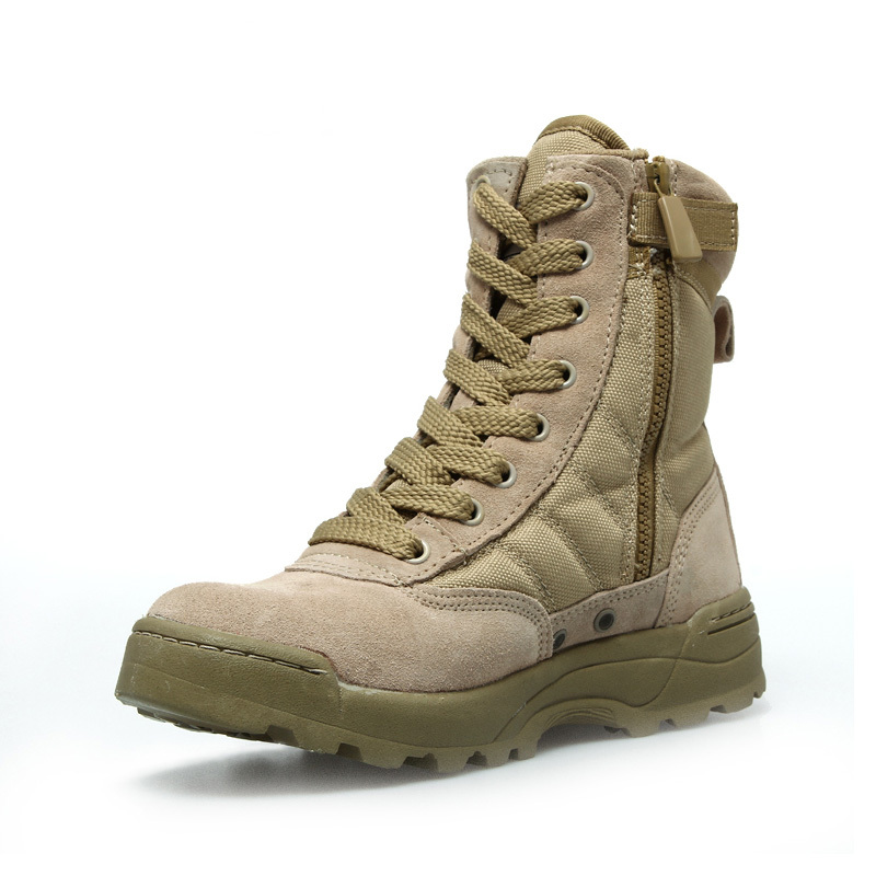 U.S.SWAT Men's Lace Up Breathable DESERT Hiking boots Army ...