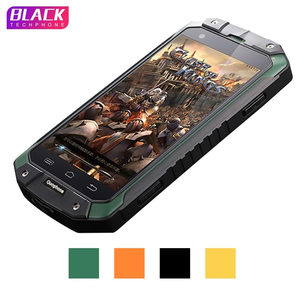 Guophone V9 smartphone 4,0 pulgadas 1 GB 8 GB IP68 impermeable a prueba de golpes a prueba teléfono MTK6580 Quad Core GPS 3G 8MP teléfono Inteligente Android