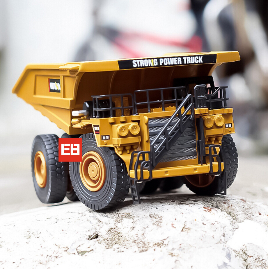 High simulation 1:40 scale diecast Engineering vehicle Mine dump truck metal model alloy toys collection for adult kids gifts hot sale 1set simulation inertia crane set model car alloy plastic transport mine engineering vehicles toys for children gifts