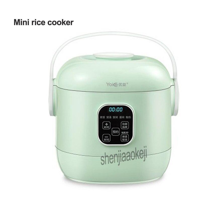 2L cuiseur à riz Intelligent anti-adhésif cuiseur à riz Y-MFB10 Mini casserole châssis chauffant ustensiles de cuisine avec écran LCD 220 v