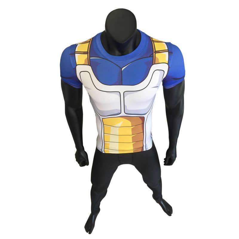 Neue mode Japan anime Dragon Ball Z charakter Goku 3D t shirt frauen/männer harajuku cartoon t hemd casual t tops cosplay Kurze