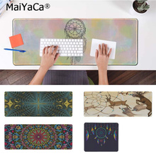 MaiYaCa Vintage Cool Dream Catcher Feather Large Mouse pad PC Computer mat Free Shipping Pad Keyboards Mat