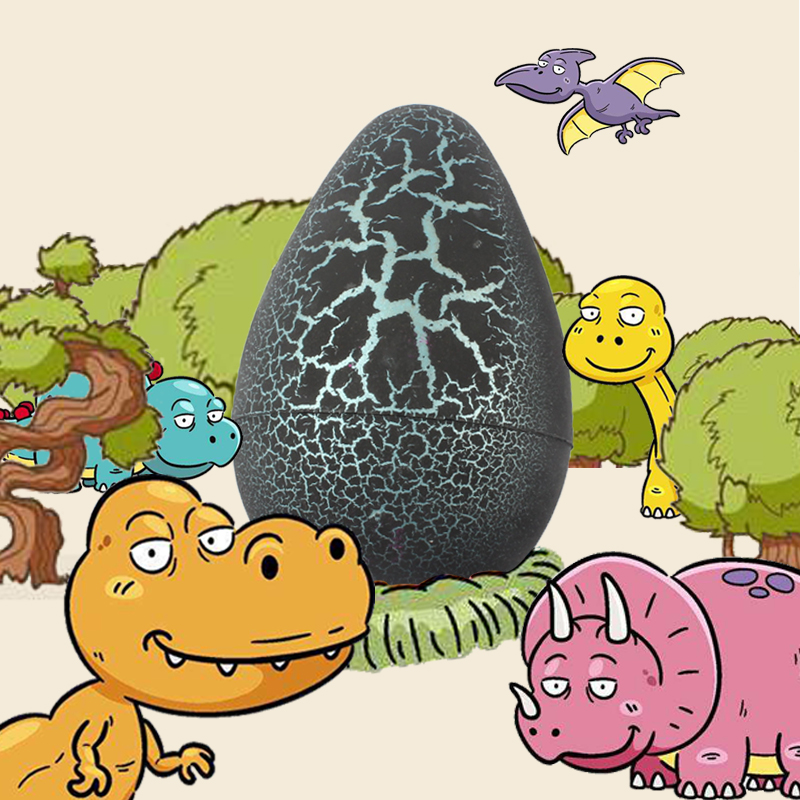 Cute Magic Hatching Growing Dinosaur Eggs Add Water Growing Dinosaur Novelty Gag Toys For Child Kids Educational DIY Toys Gifts