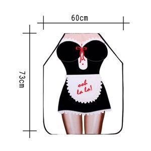 Image 5 - 10 צבעים סינרי מטבח אישית דיגיטלי מודפס סקסי מצחיק סינר לנשים איש מנגל ניקוי בישול סינר יומי בית שימוש