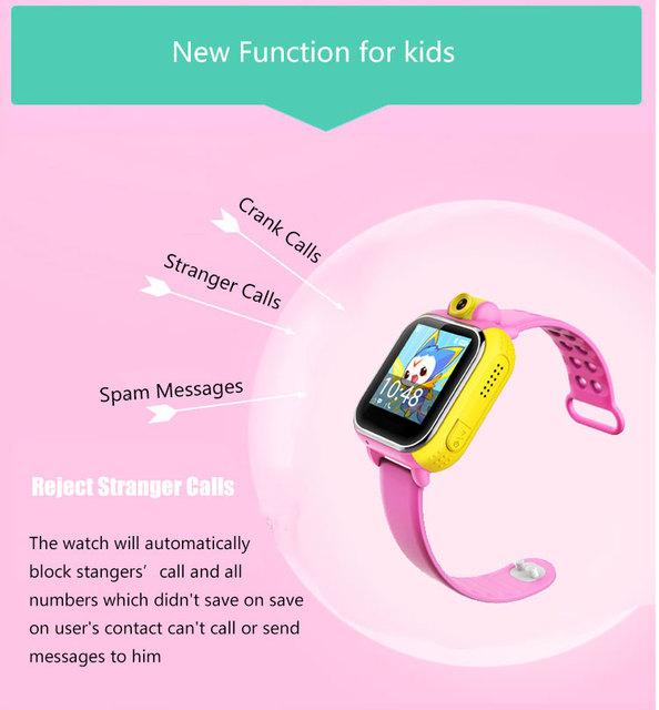 Andriod novo smart watch crianças relógio de pulso 3g gprs gps localizador rastreador anti-perdida smartwatch relógio do bebê com a câmera para ios android