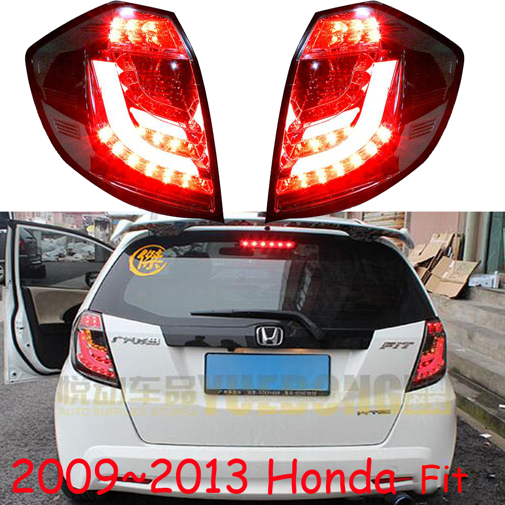 цены car-styling,Fit Jazz Taillight,2009~2013,car covers,Free ship!2pcs,Fit Jazz fog light;Fit Jazz tail lamp,Chrome,car-detector