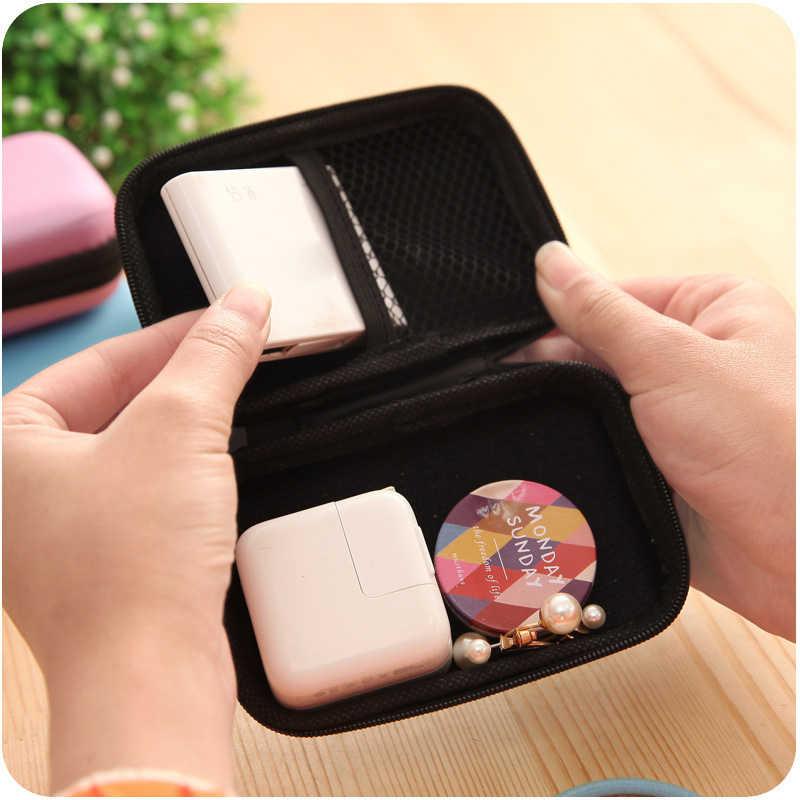 """Портативный 2,5 """"usb-накопитель для внешнего хранения данных жесткий диск HDD чехол для переноски многофункциональный кабель наушники сумка для ПК ноутбука"""