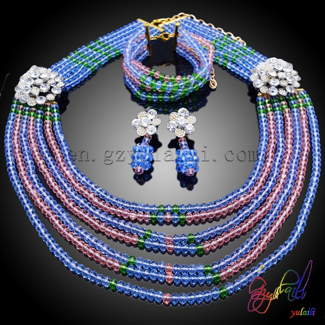 Yulaili Three-Color Design Beautiful Burning for Women Find Beaded Jewelry Set in Engagement Yulaili Three-Color Design Beautiful Burning for Women Find Beaded Jewelry Set in Engagement