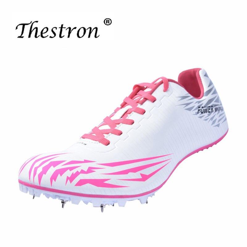 Nouveau Couple course pointes pour marque de piste hommes et femmes Feiyue chaussures hommes santé Super léger piste et champ pointes chaussure antidérapante