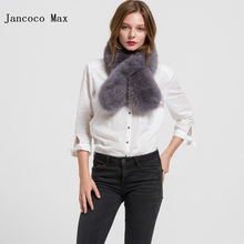 2016 Real Fur Scarves Genuine Fox Fur Scarf Women Winter Fashion Neck Warmer Hight Quality S1705