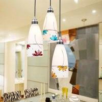 Pendant Light Lamp Modern Brief Lamps Pendant Lighting Led Crystal Lamp
