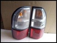 RQXR галогенные задний фонарь задний блок освещения для Toyota land cruiser prado LC90 2700 3400 1997 2002