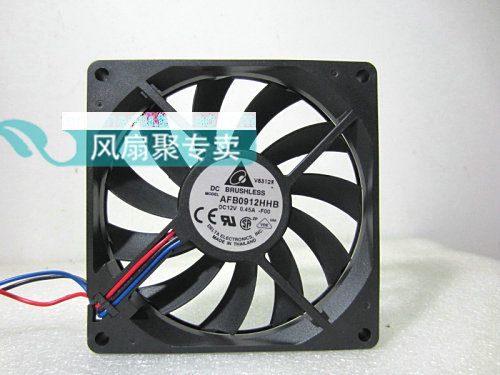 Original Delta AFB0912HHB 9CM 92*92*15MM 12V 0.45A Tachometer Signal cooling fan original delta afb0912shf 9032 9cm 12v 0 90a dual ball bearing cooling fan page 6