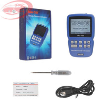 VPC-100 Hand-Held Vehicle Pin Code Calculator VPC-100 Support English Only With 500 Tokens Update Online for Almost All Cars