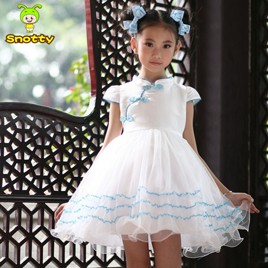 c4f7a29d 5pcs/lot kids princess dress fashion design small girls dress for 3 10  years old little girl dress puffy KD 1465-in Evening Dresses from Weddings  & Events ...