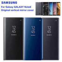 Original Mirror Cover Clear View Smart Cover Phone Case For Samsung Galaxy Note8 N950F Note 8