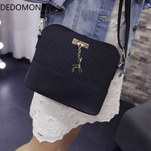 79cf519b4a3 DEDOMON 2018 Shoulder Bags Women Small Messenger Ladies