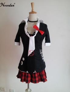 Image 5 - Danganronpa cosplay anime junko enoshima encarnação inushio kimuchi dangan ronpa gatilho feliz caos cosplay traje