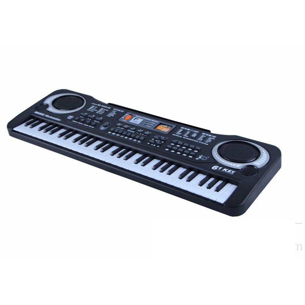Instrument de musique jouet clavier électronique Portable orgue électrique Piano cadeau pour bébés enfants avec Microphone et câble USB - 4