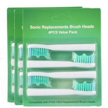 2000pcs Compatible With HX7004 Replacement Brush Heads For Applicable To Philips Sonicare E Series Toothbrush Soft Bristles