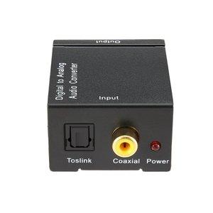 Image 1 - TV Audio Converter Digital To Analog Converter Digital Optical Coaxial RCA Toslink Signal to Analog Audio Converter Home Theater