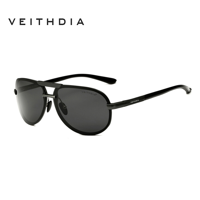 VEITHDIA Aluminum Magnesium Goggles Men's Sunglasses Polarized Lens Driving/Fishing Glasses Sun Glasses Male Eyewears For Men